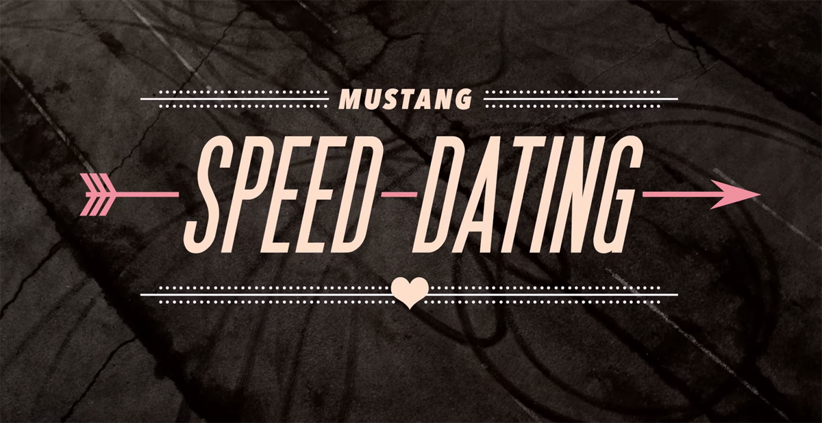 Mustang speed dating prank