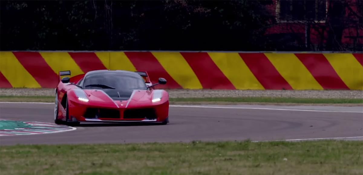 Sebastian Vettel Ferrari FXX K