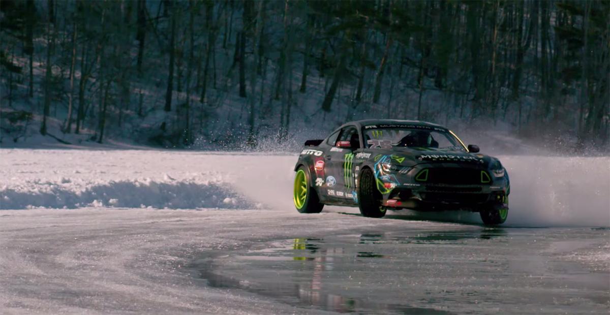 Gittin Jr. Mustang RTR Ice Drift
