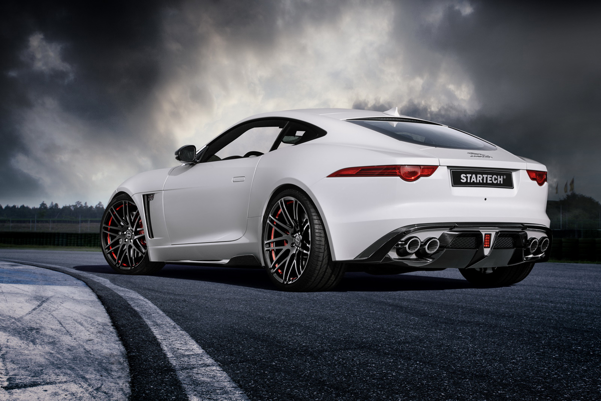 The Startech Jaguar F-Type is a Carbon Fiber British Athlete