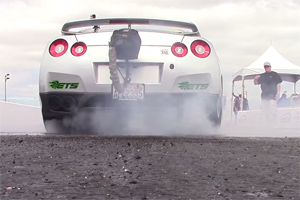 Nissan GT-R Drag Strip