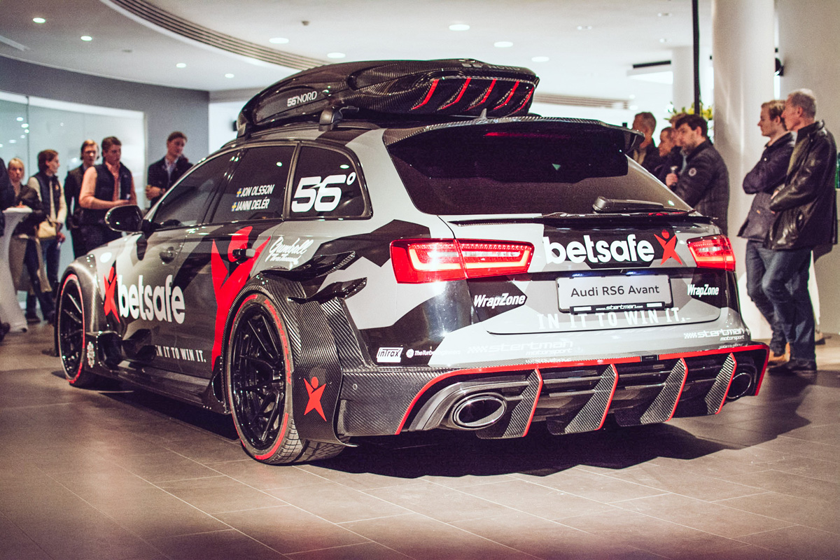 jon olsson brings the big guns with the audi rs6 dtm. Black Bedroom Furniture Sets. Home Design Ideas