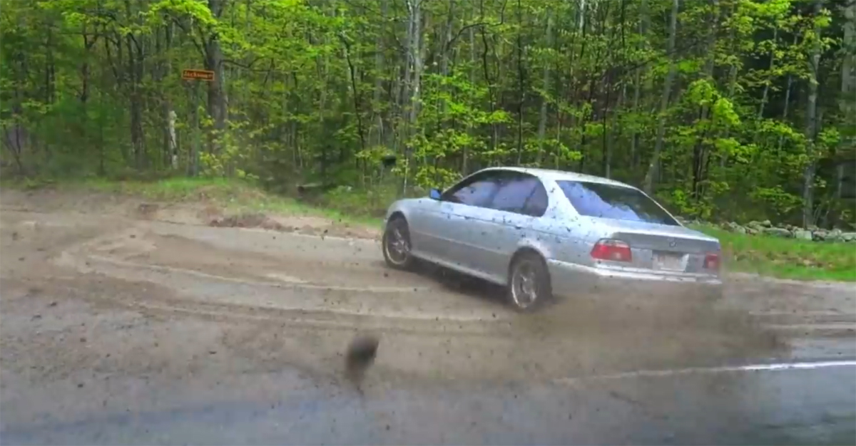 BMW Drift Rock Face