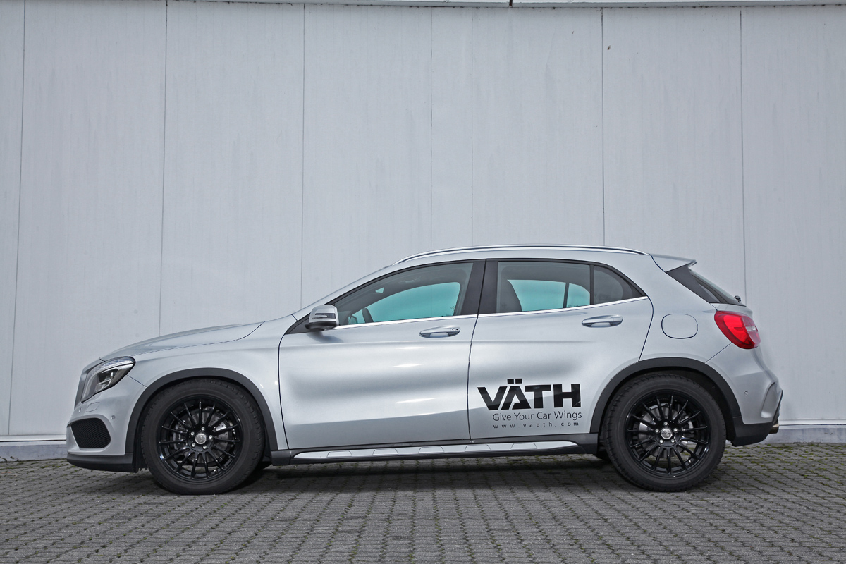 Vaeth tunes up the new mercedes benz gla for Mercedes benz 200