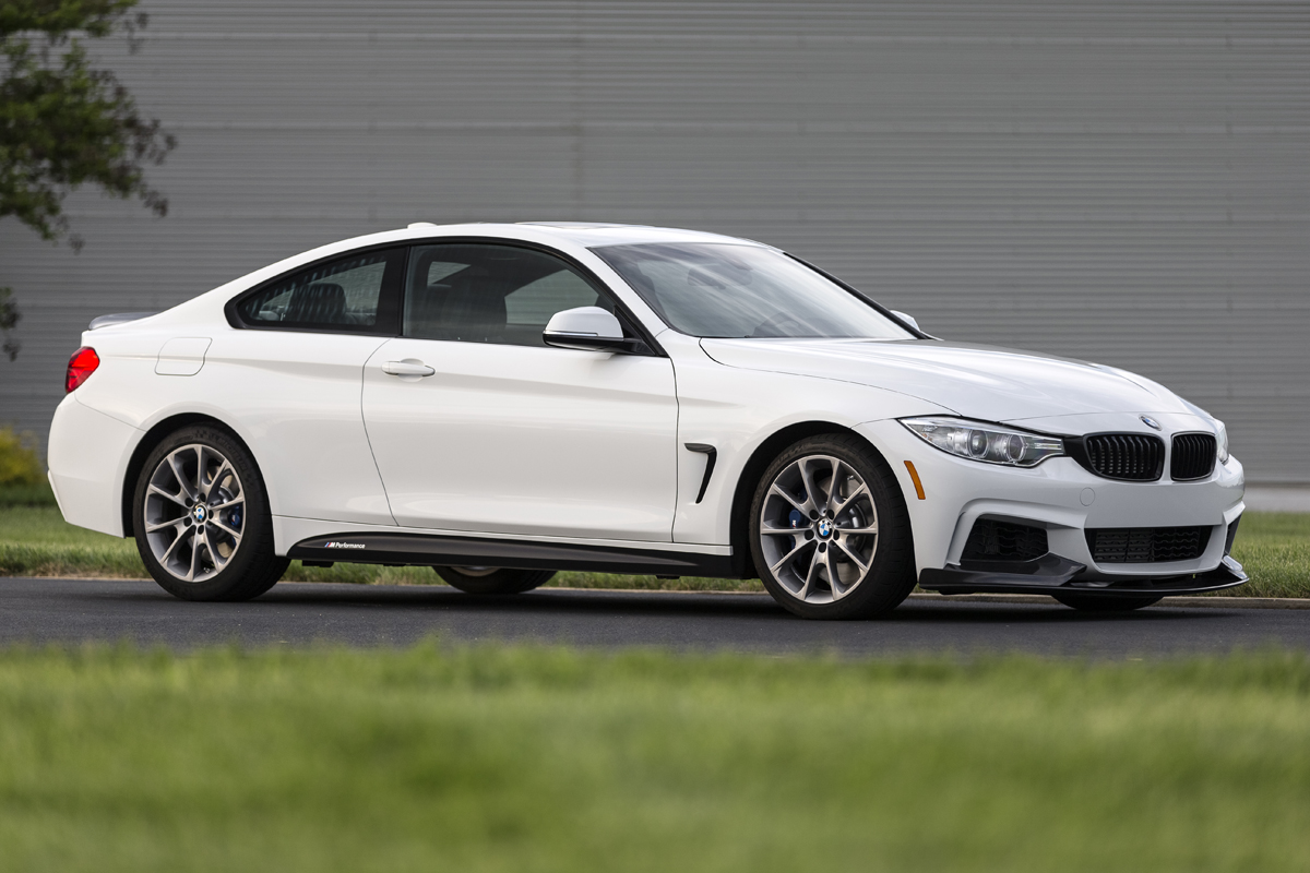 the bmw 435i zhp coupe is a performance special. Black Bedroom Furniture Sets. Home Design Ideas