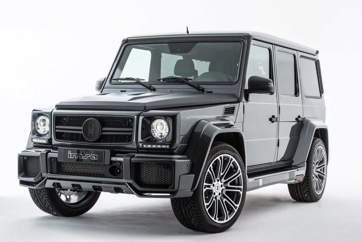 Imsa goes big with the mercedes benz g63 amg for The biggest mercedes benz