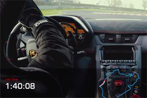 Lamborghini Aventador LP 750-4 SV Nürburgring