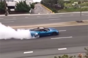 Corvette Burnout