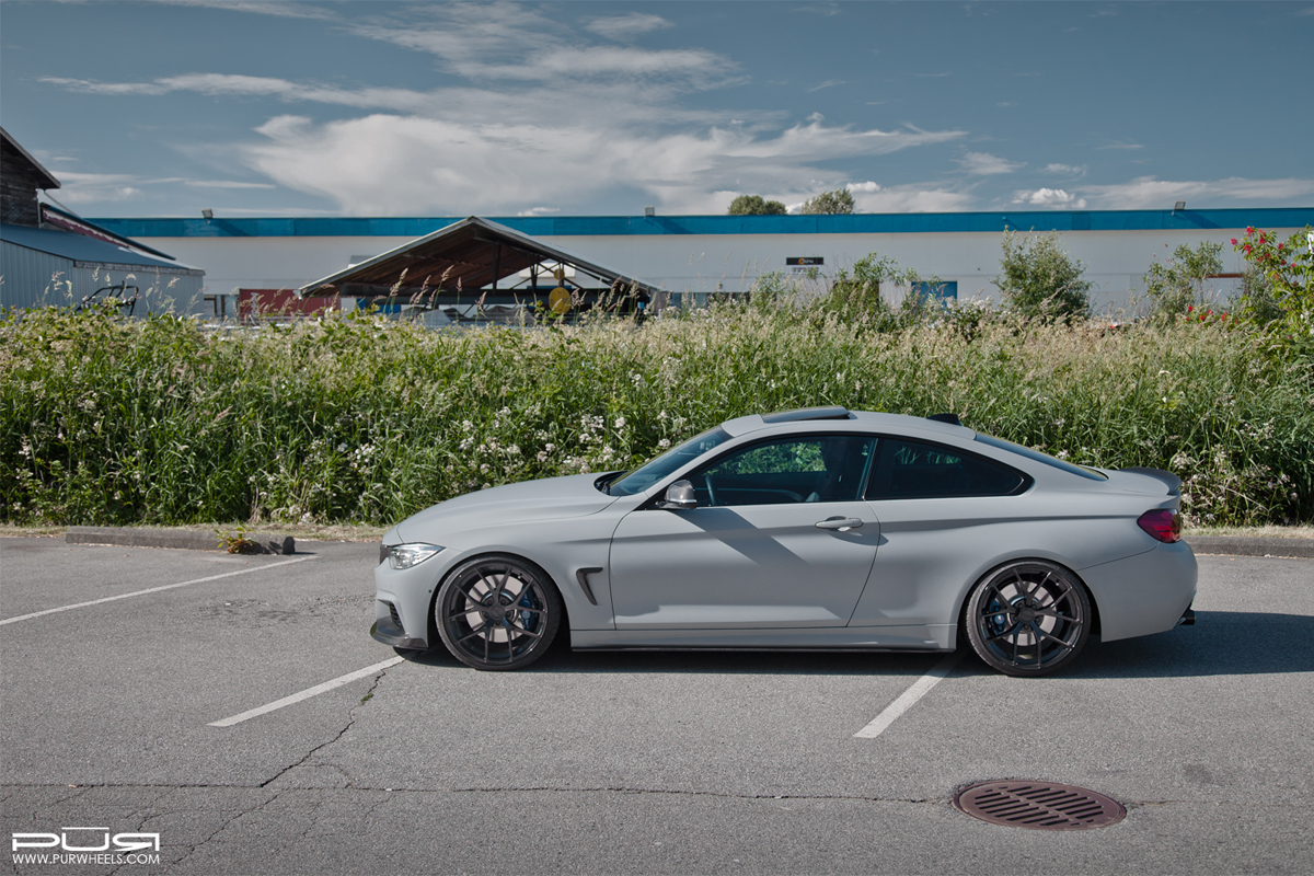 Featured Fitment Bmw 435xi With Pur 4our Sp Wheels