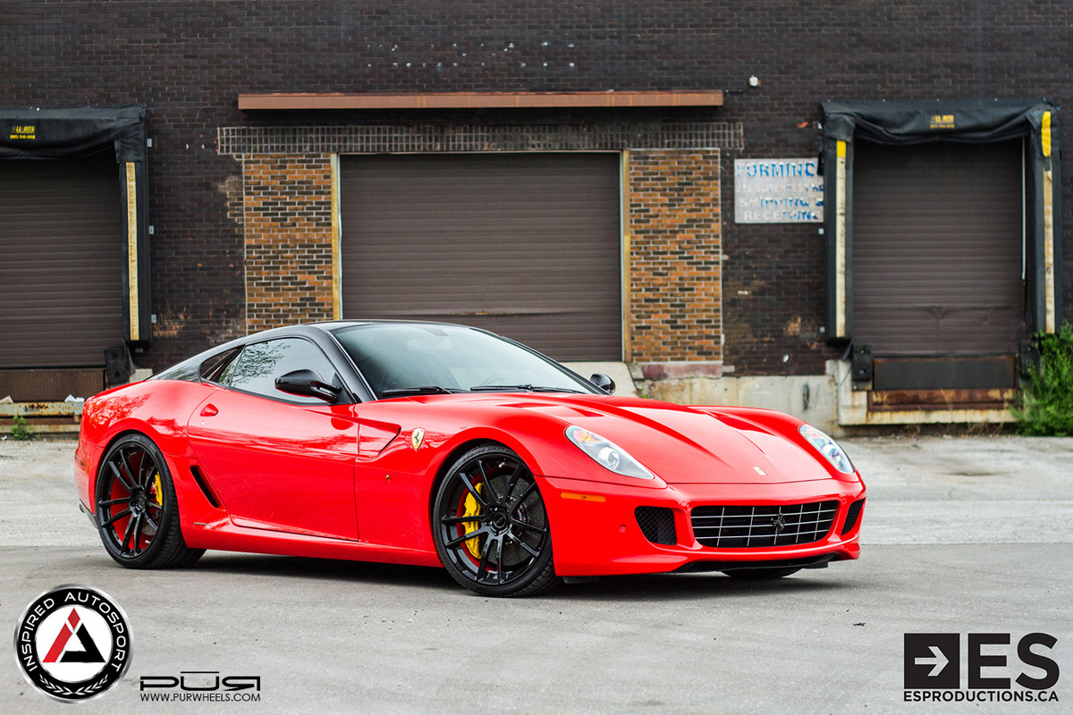 featured fitment ferrari 599 gtb w pur 1ne forged wheels. Black Bedroom Furniture Sets. Home Design Ideas