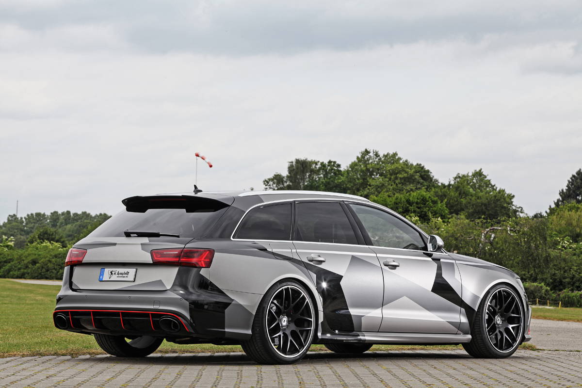 schmidt revolution has some fun with the audi rs 6 avant. Black Bedroom Furniture Sets. Home Design Ideas