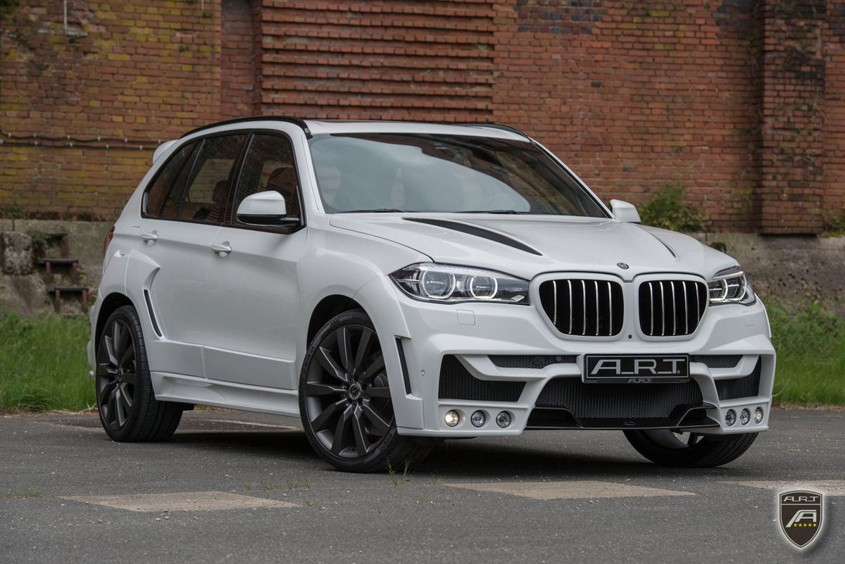 A R T Tuning Creates Xhawk5 Bmw X5 Widebody Conversion on tesla time