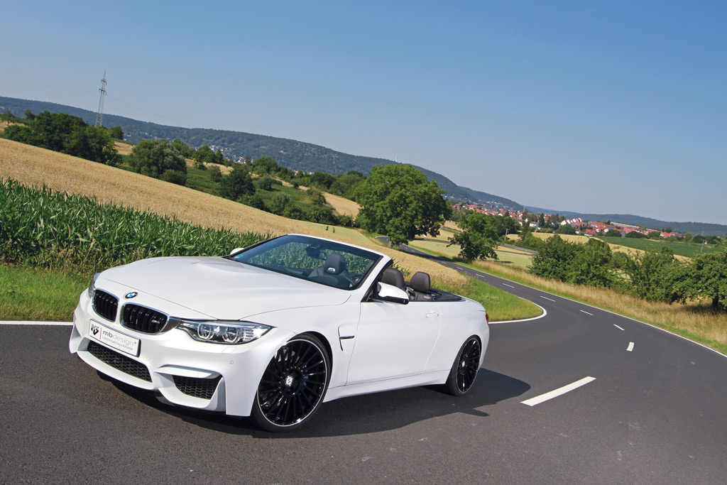 BMW M4 Convertible with mbDESIGN VENTi-R Wheels