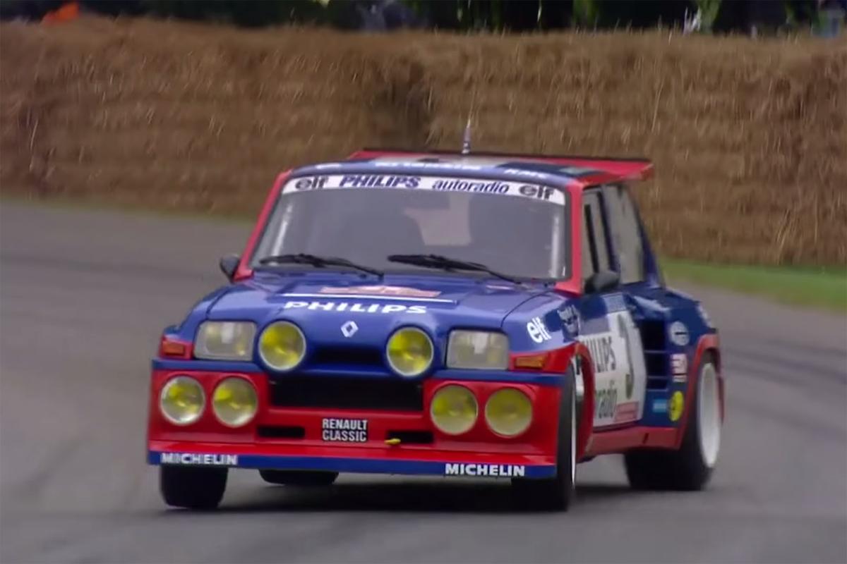 Jean Ragnotti Renault 5 Maxi Turbo Goodwood