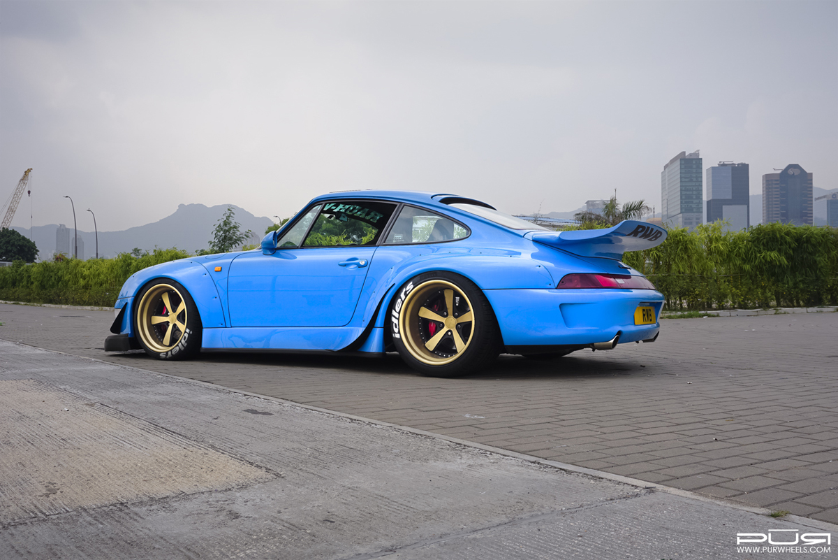 Go Wide With This Rwb 993 Porsche 911 With Pur Wheels