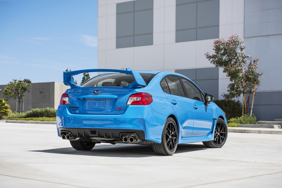 Subaru Series.HyperBlue WRX STI