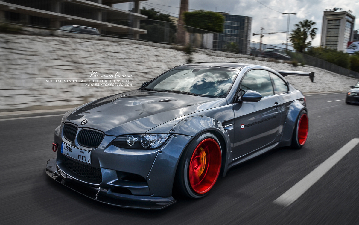 Get Wide And Supercharged With The Liberty Walk Bmw M3