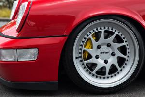 964 Porsche 911 with Rotiform OZT Wheels