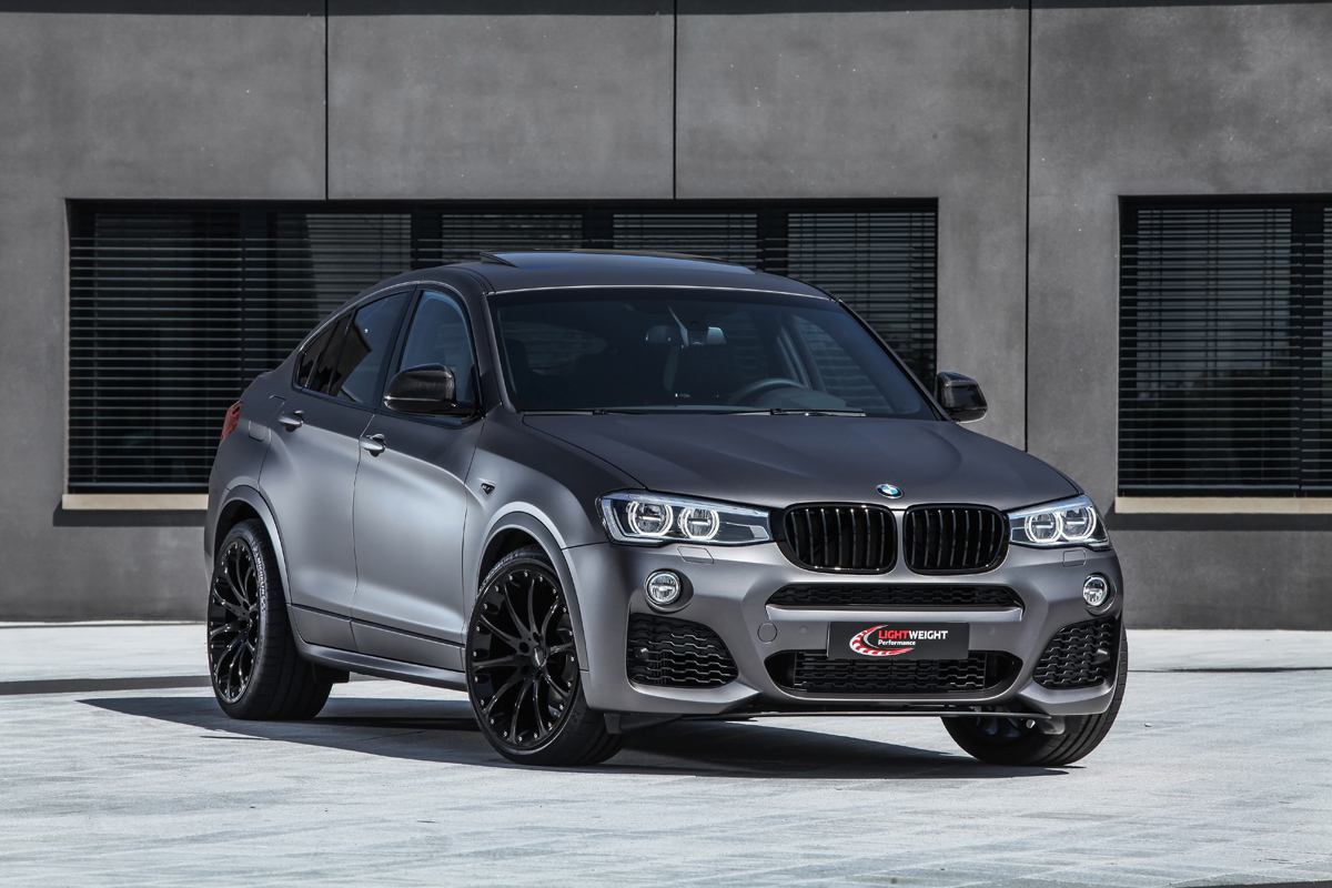 Lightweight BMW X4