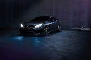 Mercedes-Benz E63 AMG Brixton Forged S50 Targa Series Wheels by Sonic Motorsports