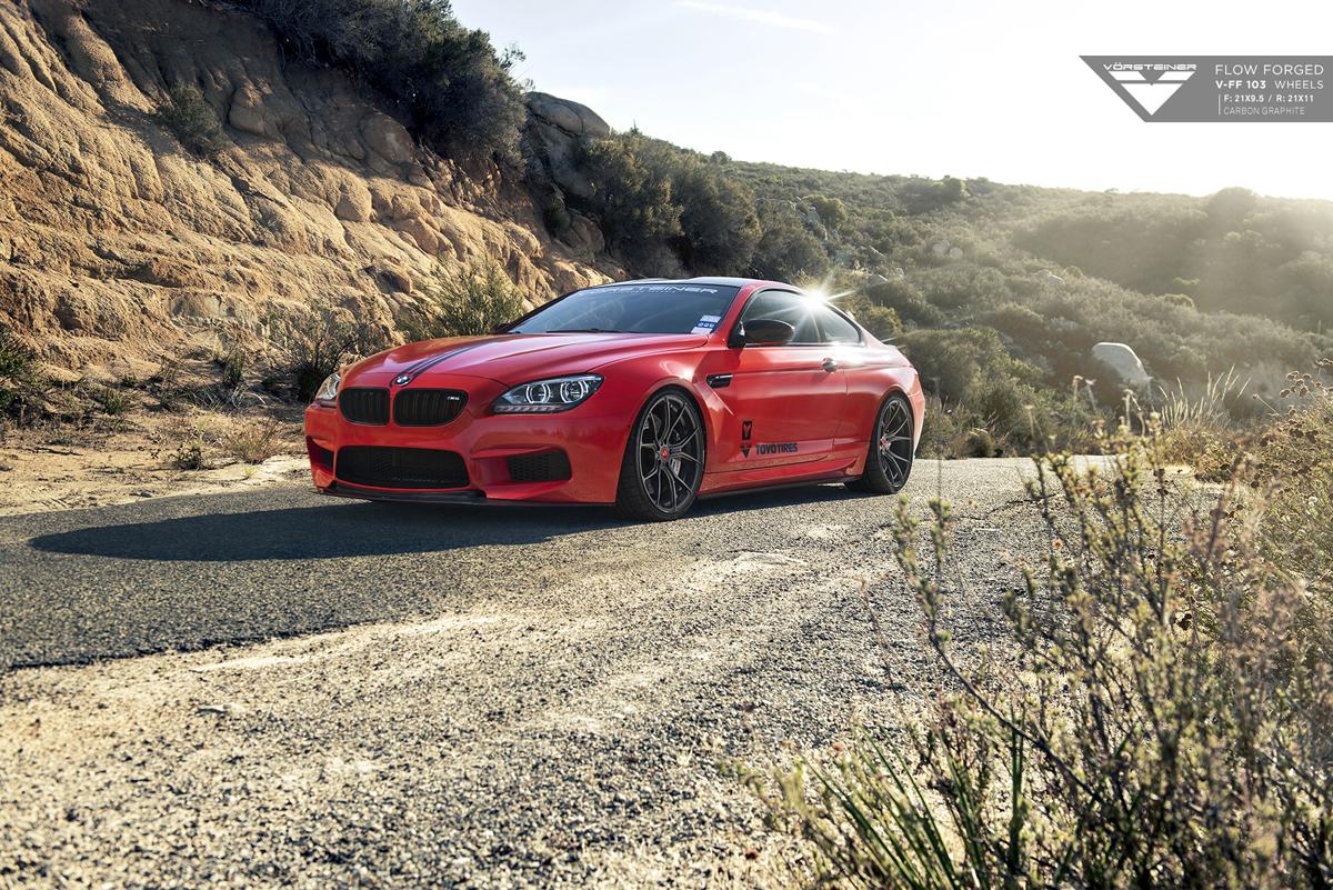 Featured Fitment BMW M6 With Vorsteiner V FF 103 Wheels