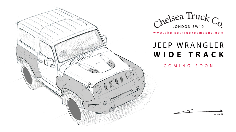 the chelsea truck company previews their new jeep package