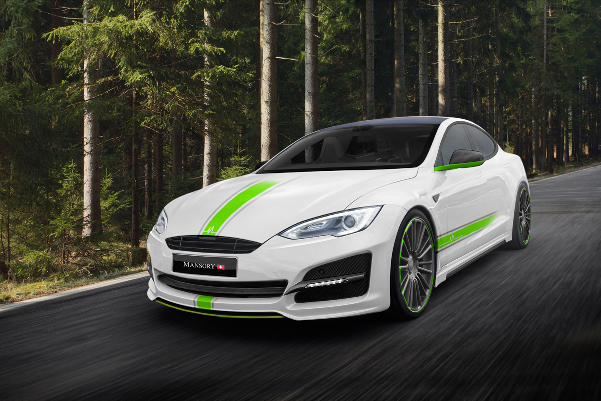 mansory cuts weight on the tesla model s motoringexposure. Black Bedroom Furniture Sets. Home Design Ideas