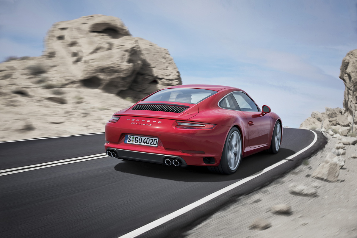 Porsche 911 Carrera S Turbocharged