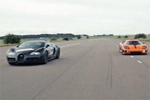 Bugatti Veyron vs Koenigsegg CCXR