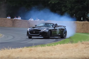 Jaguar F-Type Project 7 Goodwood