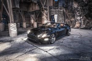 Aston Martin V8 Vantage S with Brixton Forged R10D Targa Series Wheels