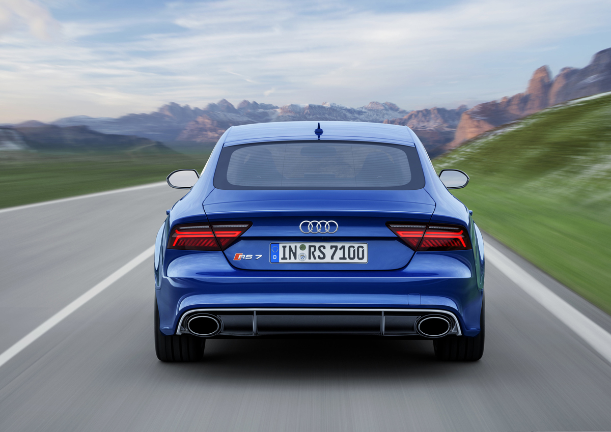 Audi rs7 performance top speed 10