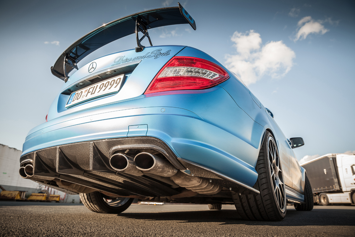 Carbonfiber Dynamics Shows Their Muscle With The C63 Amg