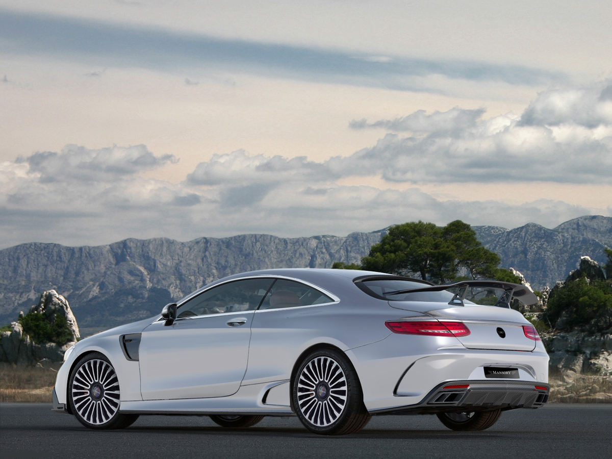 Mansory dishes out the upgrades for the s63 amg coupe for Mercedes benz s63 amg coupe price