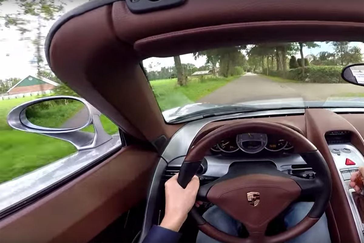 POV Porsche Carrera GT