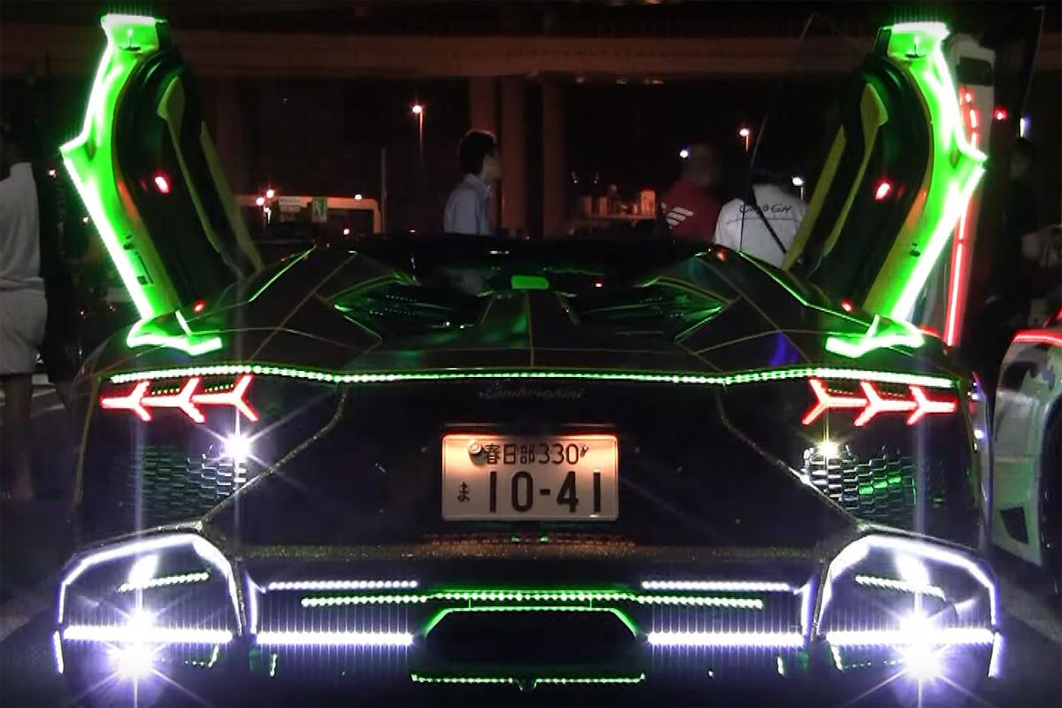 Bosozoku Lamborghini Aventador