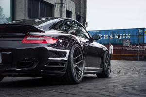 Porsche 911 Turbo Brixton Forged Wheels