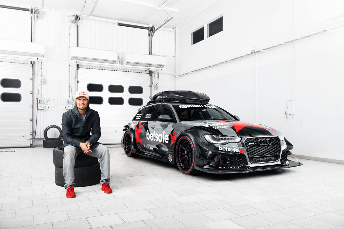 Jon Olsson S Old Camo Audi Rs6 Dtm Got Toasted