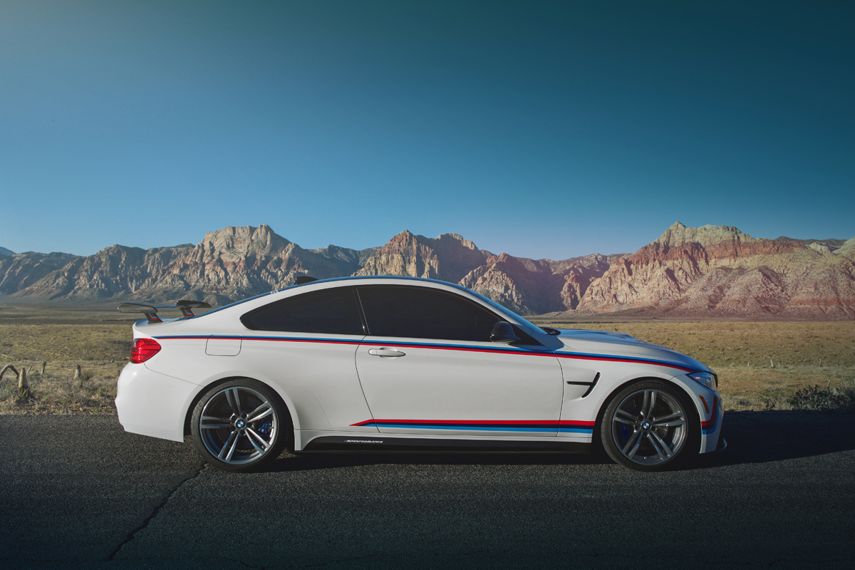 Bmw Shows Off M Performance Goodies On The M4 At Sema