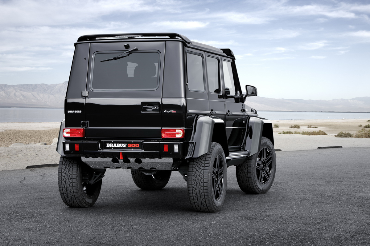 brabus goes off road with the mercedes g 500 4x4. Black Bedroom Furniture Sets. Home Design Ideas
