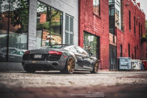 Audi R8 V10 Brixton Forged M53 Targa Series Wheels