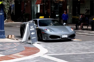 Ferrari Gold Digger Prank
