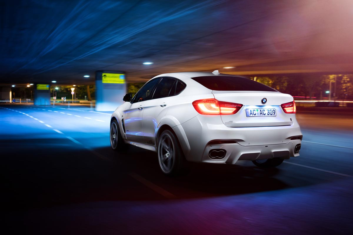 The Bmw X6 Spreads Its Wings With The Ac Schnitzer Falcon
