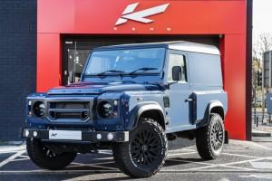 Chelsea Truck Company Tamar Blue Defender XS 110 Wide Track