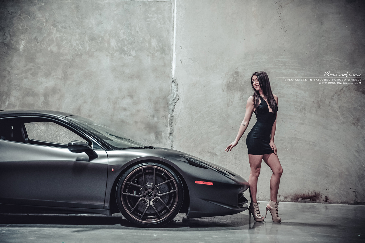 Featured Fitment Ferrari 458 Italia With Brixton Forged
