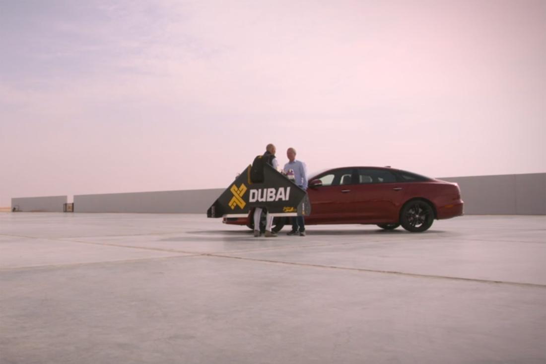 Jaguar XJR vs Jet Pack