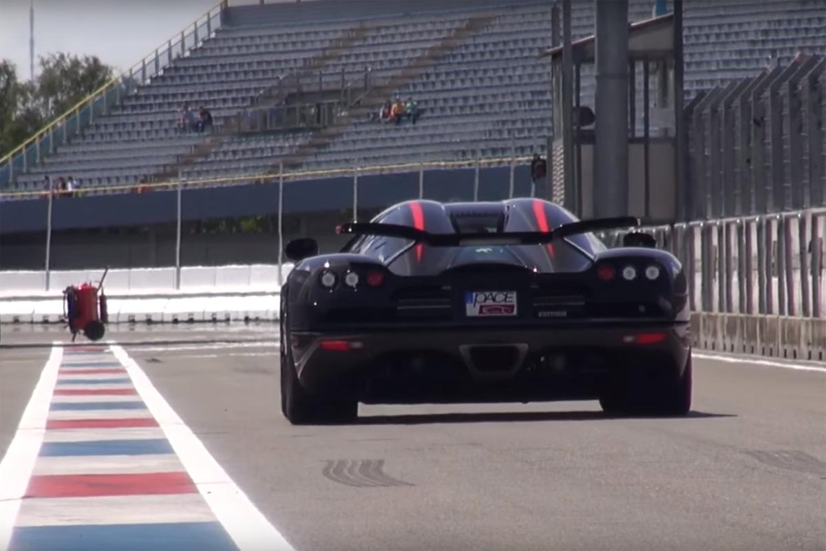 Koenigsegg CCX Video