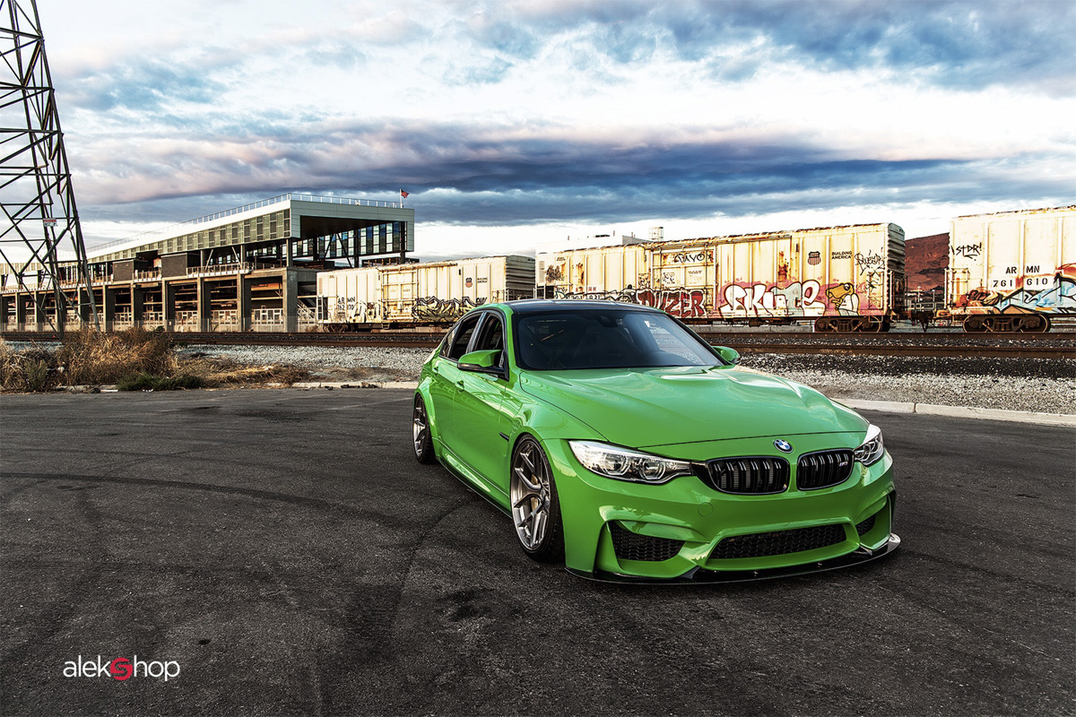 The Signal is Green for this BMW F80 M3 Individual