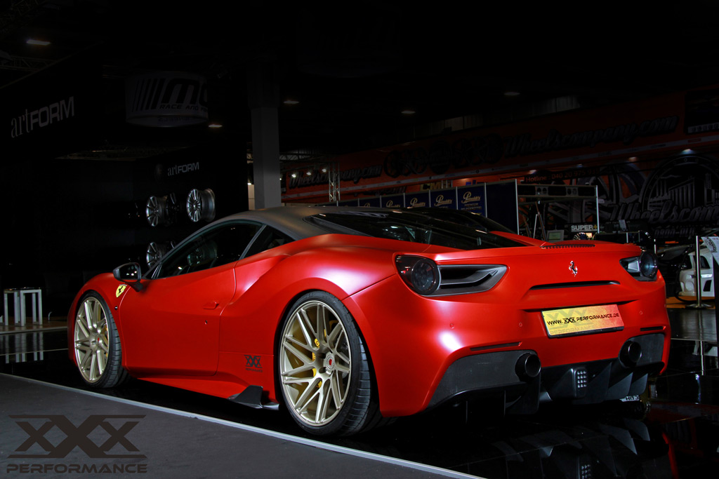 XXX Performance Ferrari 488 GTB