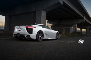 Lexus LFA with PUR RS22 wheels by SR Auto Group